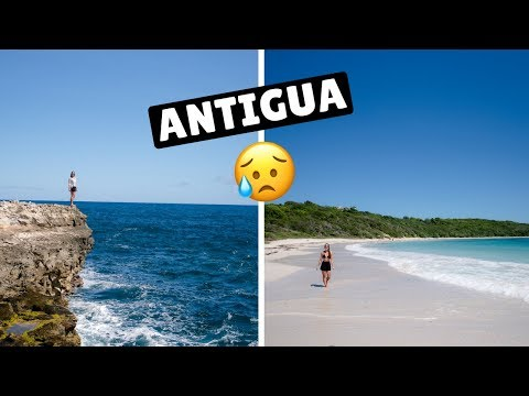 BIGGEST BUMMER OF THE TRIP! Antigua | 15 Day Repositioning Cruise