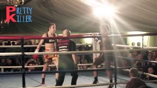 BRUTAL KNOCKOUT- Iman Barlow vs Maritzarda Hesisia-Muay Thai-ESM thumbnail