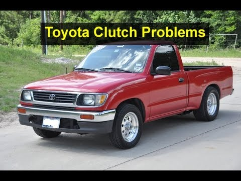 Need Help With A Clutch Problem 1996 Tacoma Pedal Does Not Return All The Way Up