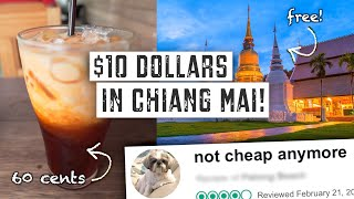 What Can $10 DOLLARS Get You in THAILAND? | How Expensive is CHIANG MAI?