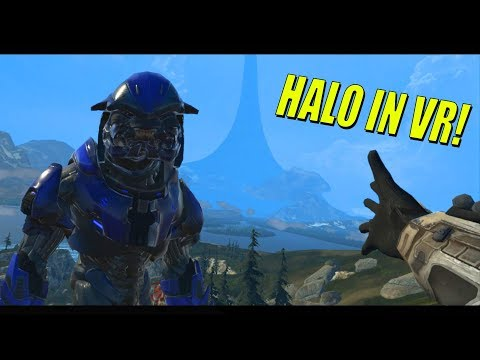 Halo Reach in VR (VRChat Forge World Vive Gameplay)