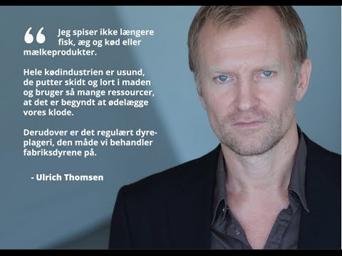 Ulrich Thomsen Goes Vegan