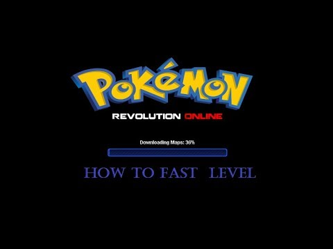 Pokemon Revolution Online : How To Fast LV