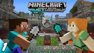 Minecraft (PS3) Tumble Mini Game | [Часть 1]