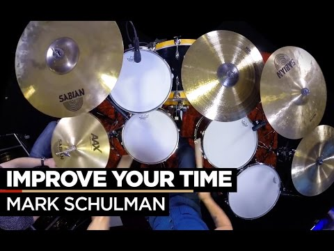 How to Play Tight to a Metronome   Mark Schulman   Drum Lesson