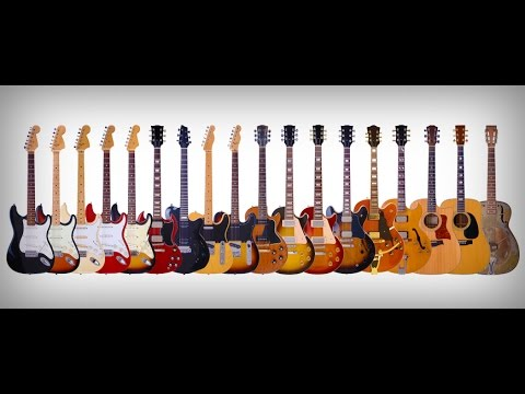 9 Different Types of Guitar