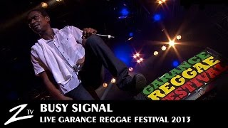 Busy Signal - Watch Out For This - LIVE
