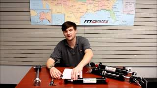How to measure a hydraulic cylinder replacement - Magister Hydraulics