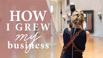 Photography Business Game Changers! How I grew my photography business