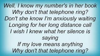 Tracy Byrd - Why Dont That Telephone Ring Lyrics YouTube Videos