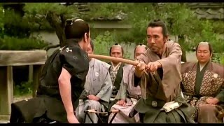 Ame Agaru (雨あがる) - Bokken Fight Scene