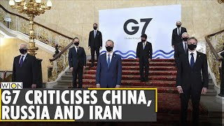 G7 chides china's rights abuses, russia's aggression, iran's foreign prisoner| summit| world news