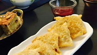 Chicken samosa / Ifthar recipe / easy malabar chicken samosa