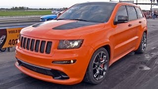 800hp Jeep - AWD Orange FURY!