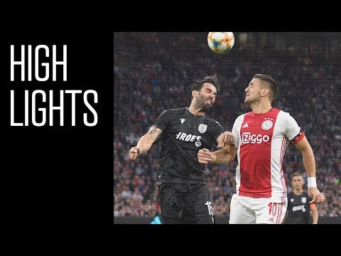 Highlights Ajax - PAOK