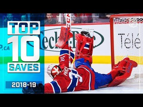 Top 10 Saves of the 2018-19 Regular Season