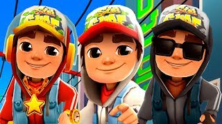 SUBWAY SURFERS Seoul Special - Jake+Star Outfit+Dark Outfit - Subway Surfers World Tour 2019