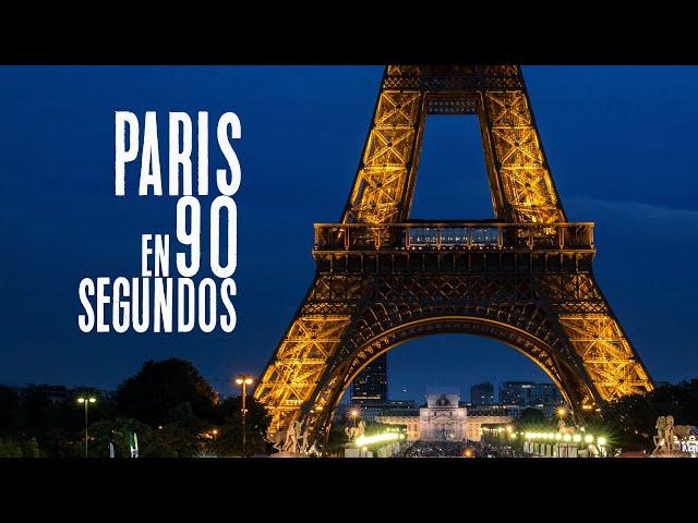 Viaje a París en 90 segundos / Viaje por Francia / Blog de viajes