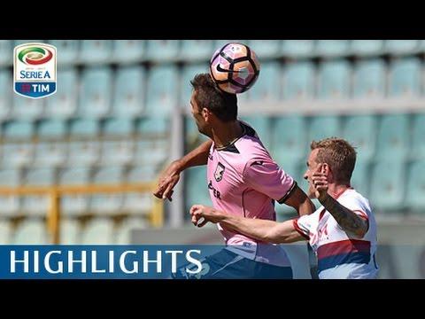 Palermo - Genoa - 1-0 - Highlights - Giornata 36 - Serie A TIM 201