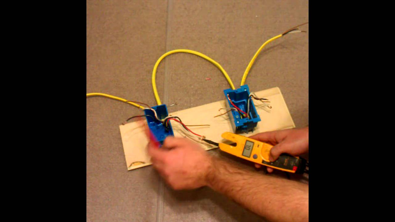 3 way switch troubleshoot and install part 3 youtube wiring a three way switch troubleshooting [ 1280 x 720 Pixel ]