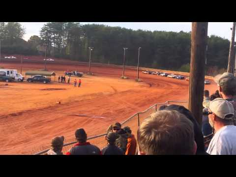 Travelers Rest Speedway FWD Heats & Mains 11.8.14