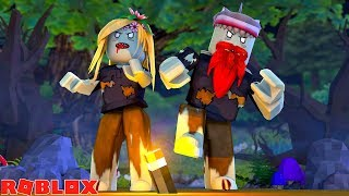 THE ZOMBIES ALWAYS WIN !!! Sharky Roblox Little Kelly