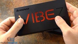 Распаковка Lenovo Vibe Z (K910) в версии с двумя SIM (unboxing)