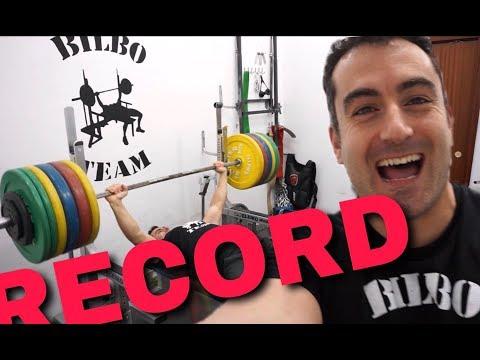 Bench Press 222'5 kg - New Personal Record - PRESS BANCA