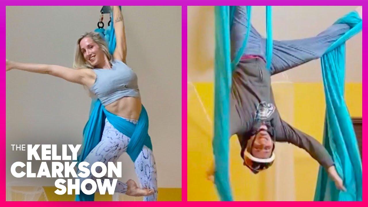 Family's Aerial Gymnastics TIkTok Videos Are Seriously Impressive!