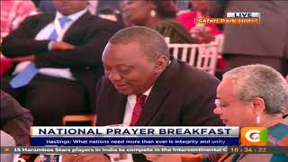 Raila Odinga: Handshake with Uhuru was like that of Mandela and de Klerk #NationalPrayerDay