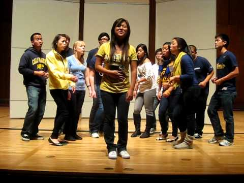 Artists in Resonanace Welcome Back A Cappella Spring 2012- Chasing Pavements