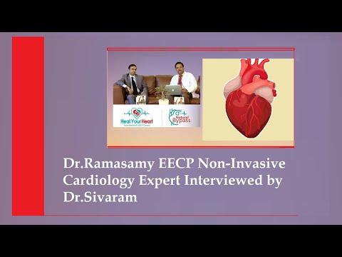 dr ramasamy eecp non invasive cardiology export interviewed by dr sivaramkumar