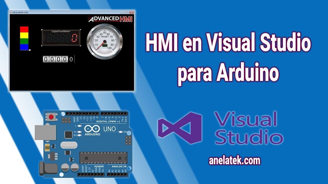 HMI in Visual Studio for Arduino