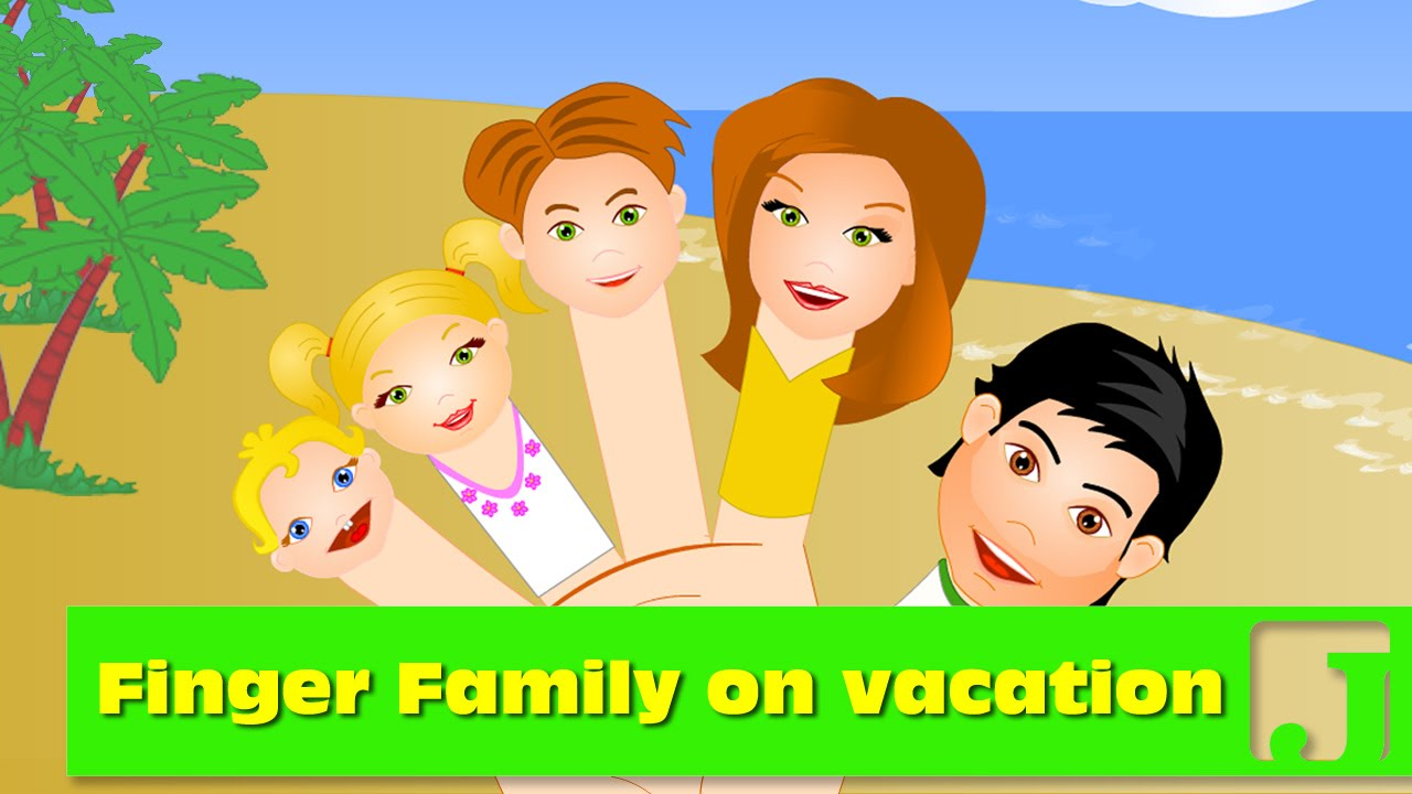 Finger Family On Summer Vacation Nursery Rhymes