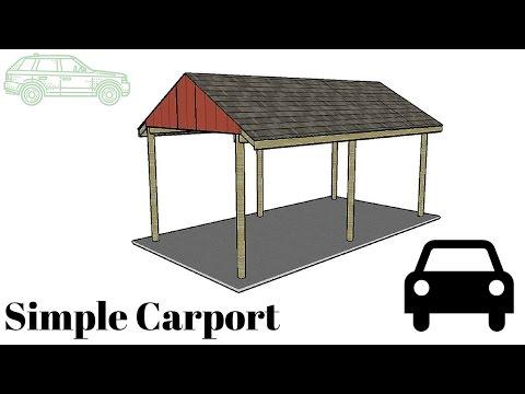 Free Simple Carport Plans