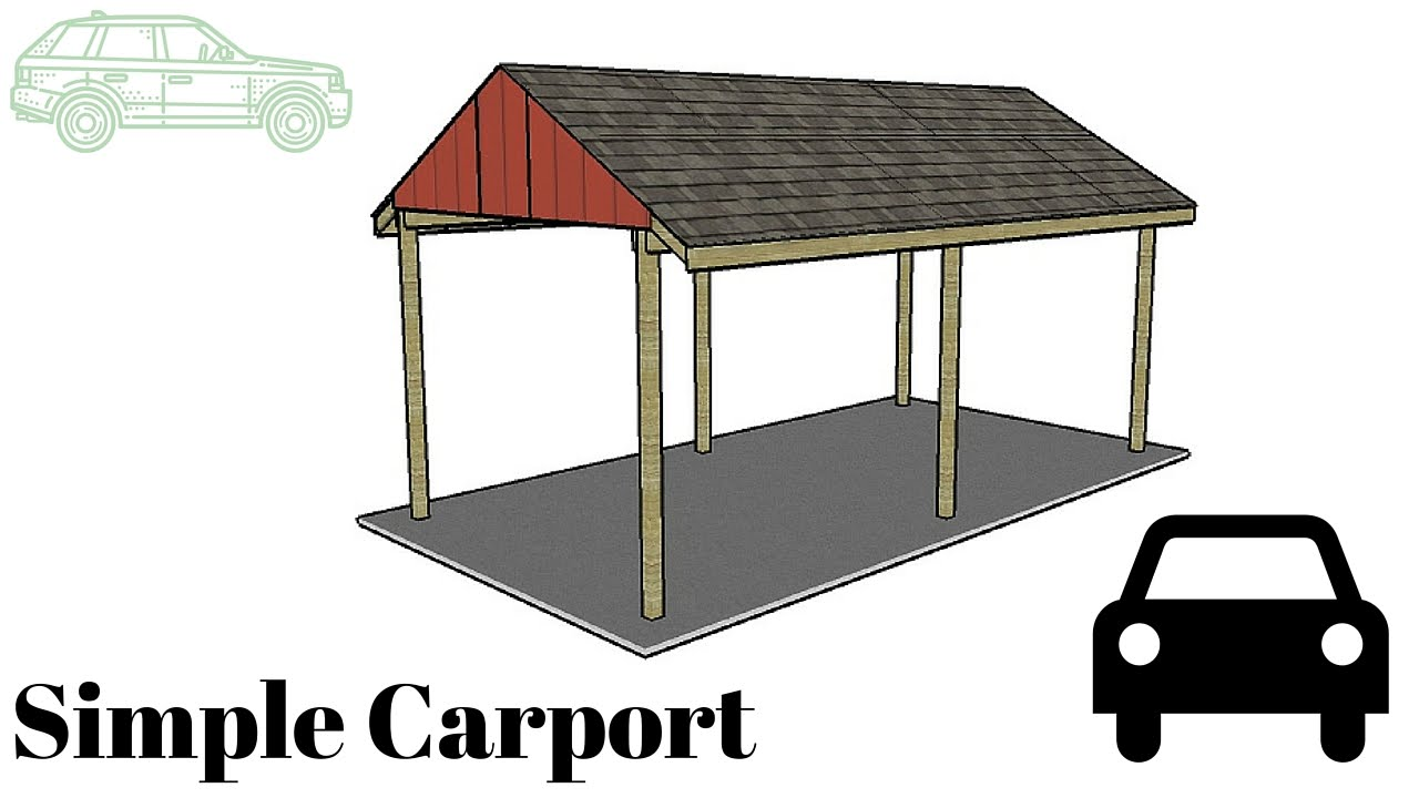 simple carport startseite design bilder. Black Bedroom Furniture Sets. Home Design Ideas