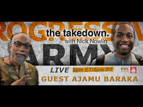 The Takedown with Nick! Guest Ajamu Baraka