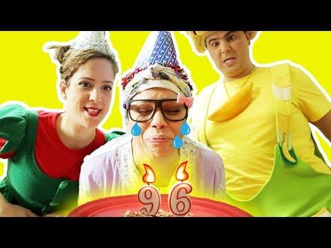 فوزي موزي وتوتي – عيد ميلاد التيتا فوزية – Teta Foziya's Birthday