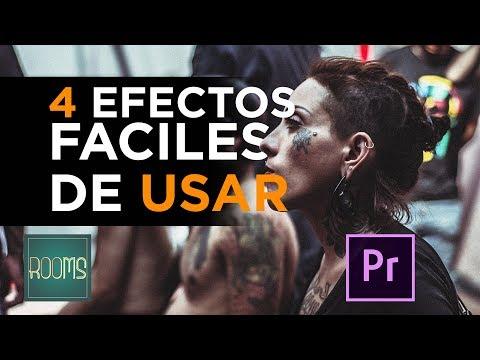 4 Efectos de Video Premiere pro
