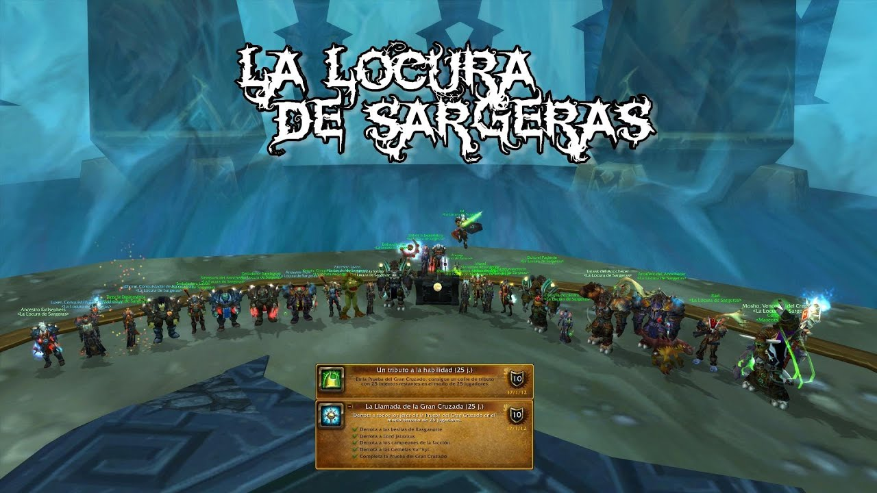 World Of Warcraft Anubarak 25hc 1st Kill