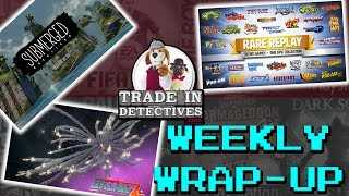 Rare Replay, Galak-Z: The Dimensional, and Submerged - Trade In Detectives Weekly Wrap Up #4