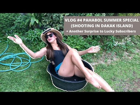 Pahabol Summer Special Vlog(Shooting In Dakak Island) + Free Gift Certificates To Lucky Subscribers!