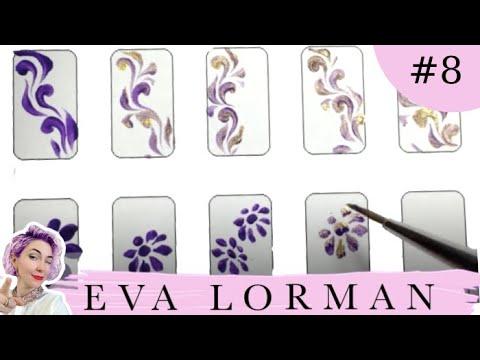 Ева лорман уроки дизайна ногтей видео ютуб
