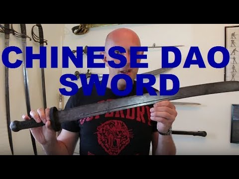 An Antique Chinese Dao Sword (AKA Chinese Broadsword)