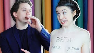 Owen Jones meets the naked anti-Brexit protester | 'We are a nation of prudes'
