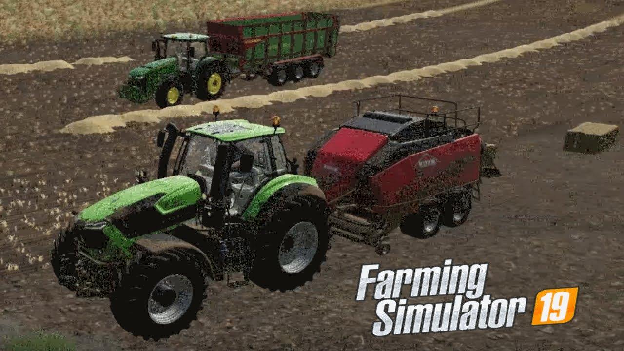Farming Simulator 2019   Timelapse   Lone Oak Farm   Episode 109
