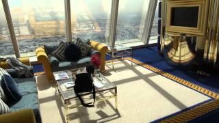 Экскурсия по номеру в Burj Al Arab