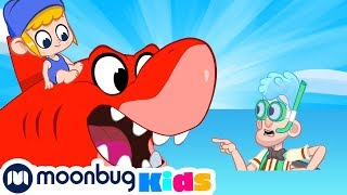 Download My Magic Pet Morphle - The Beach Bandits! | Full Episodes | Funny Cartoons for Kids | Moonbug TV Mp3 and Videos