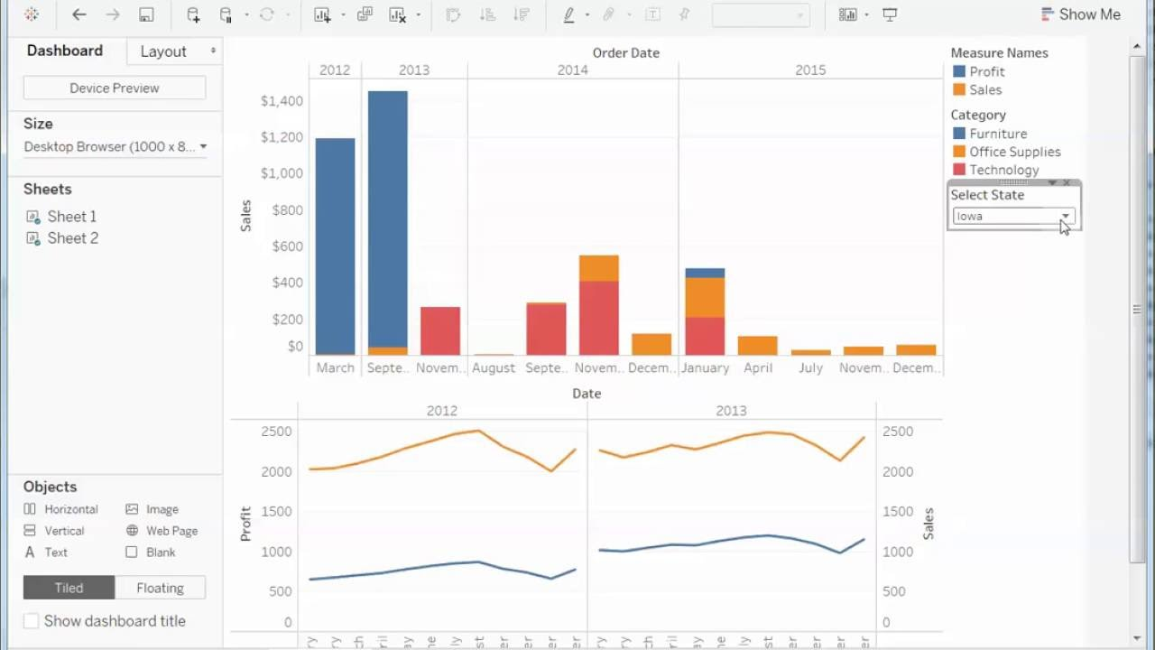 How To Filter Across Multiple Data Sources Using a Parameter in Tableau