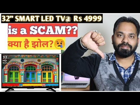 SAMY 32 inch SMART LED TV AT  Rs 4999 is a SCAM?? World's Cheapest ANDROID TV